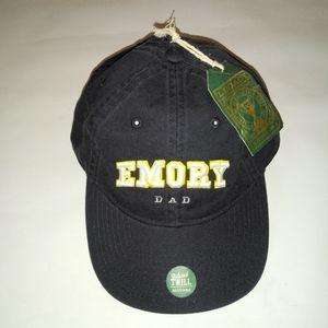 EMORY UNIVERSITY  DAD HAT